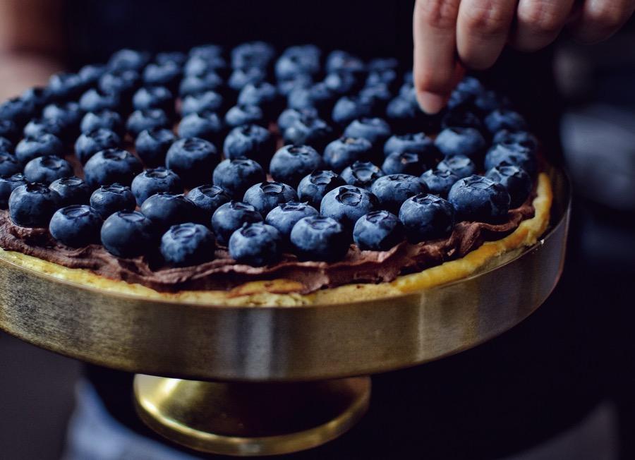 Riccottový koláč